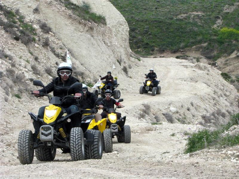 ​​​Take a trip with a Quad bike..